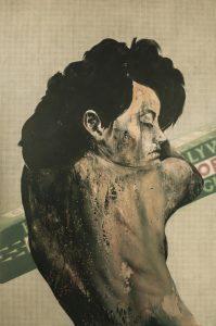Portrait de l'artiste américaine Hannah Wilke